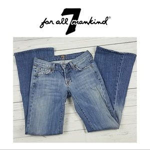 7 for All Mankind Jeans Boot Cut Size 24